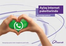 Unlimited WhatsApp texting with Azercell! - Gallery Thumbnail