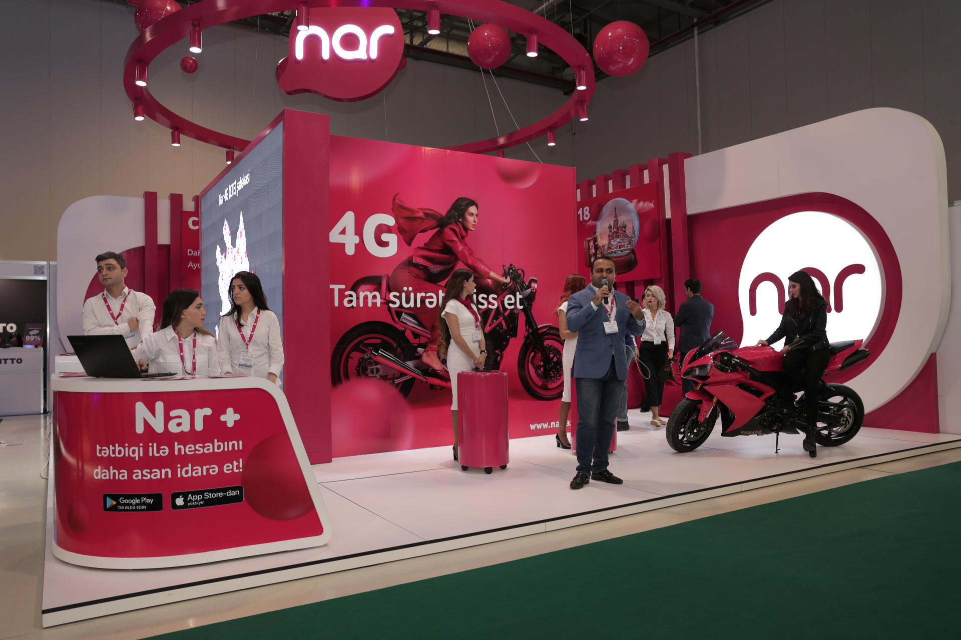 Visit Nar stand at BakuTel and win smartphone! (PHOTO) - Gallery Image