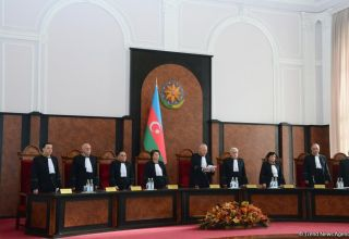 Plenum of Azerbaijan's Constitutional Court issues decision on conformity of parliament's dissolution with Constitution (PHOTO)