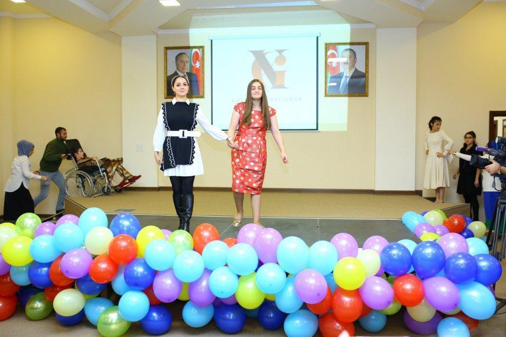 Мода без границ! В Баку прошло дефиле детей с ограниченными возможностями здоровья (ФОТО) - Gallery Image