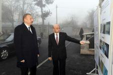 Президент Ильхам Алиев ознакомился с условиями в новом жилом доме для семей, пострадавших в результате землетрясения в Шамахинском районе (ФОТО) (версия 2) - Gallery Thumbnail