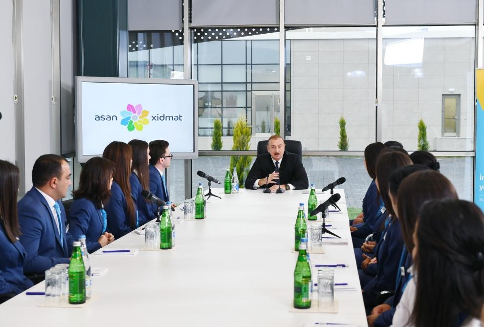 Президент Ильхам Алиев принял участие в открытии комплекса «ASAN Həyat» в Шамахы (ФОТО) - Gallery Image