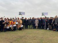 Жители Абшеронского района приняли активное участие в кампании по высадке деревьев (ФОТО) - Gallery Thumbnail