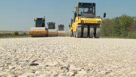 В Азербайджане реконструируется автодорога Халдан-Шеки и въезд в город Шеки (ФОТО) - Gallery Thumbnail