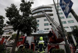 В Афинах причиной пожара в отеле стал поджог