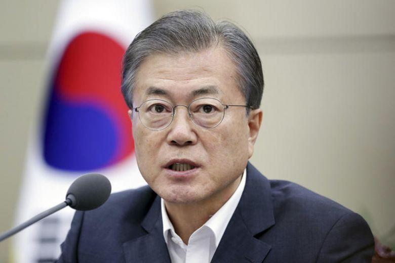 South Korea's Moon announces $29.5 billion additional cheap loans for exporters