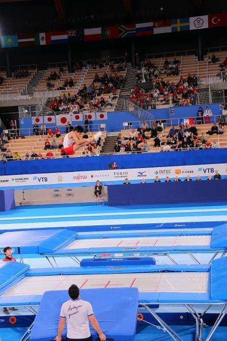 Tokioda növbəti yeniyetmə gimnastımız qızıl medal qazanıb (FOTO) - Gallery Image
