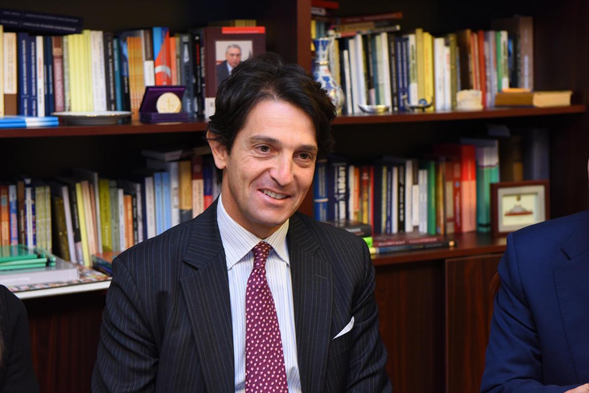 ADU-nun rektoru İtaliya səfiri ilə görüşüb (FOTO) - Gallery Image
