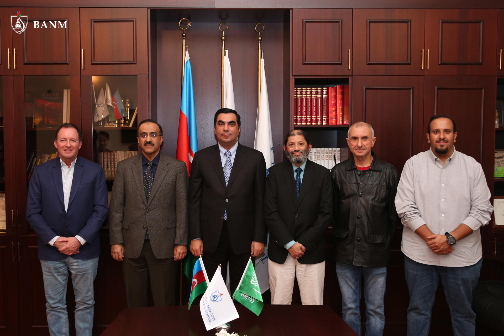 Baku Higher Oil School hosts meeting with representatives of Saudi Arabia's University of Petroleum & Minerals (PHOTO)