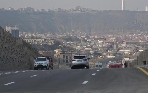 В  Баку изменится движение автотранспорта