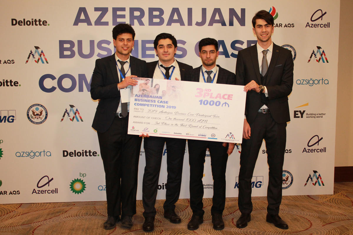 Final stage of Azerbaijan Business Case Competition 2019 (PHOTO) - Gallery Image