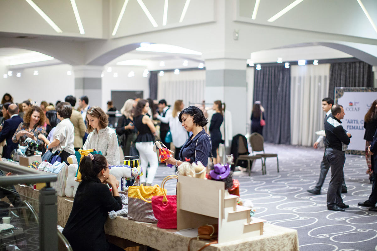 "3rd ""Arts, Crafts and Business"" trade fair held in Baku (PHOTO) - Gallery Image"