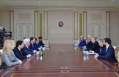 President Ilham Aliyev receives delegation led by Russian minister of economic development (PHOTO) - Gallery Thumbnail