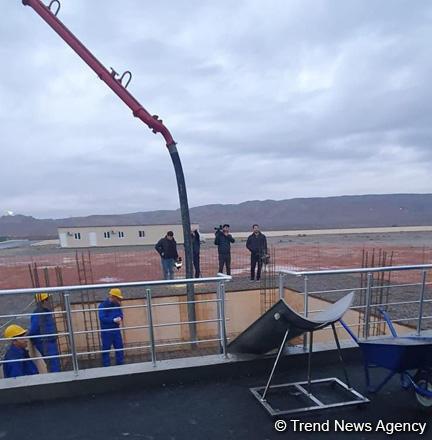 В Азербайджане стартовало строительство завода теплоизоляционных плит