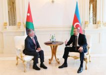 President of Azerbaijan, King of Jordan hold one-on-one meeting (PHOTO) - Gallery Thumbnail