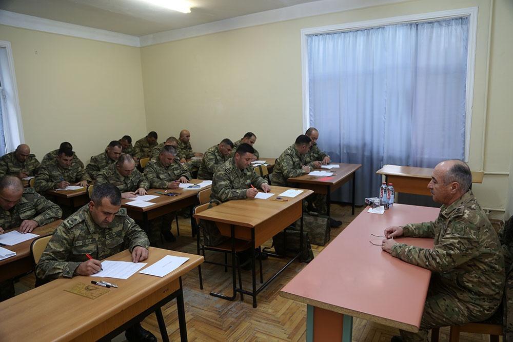 Проведены сборы командного состава азербайджанской армии (ФОТО) - Gallery Image