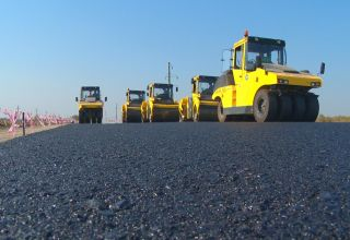 Over 1,300 km of roads commissioned in Azerbaijan