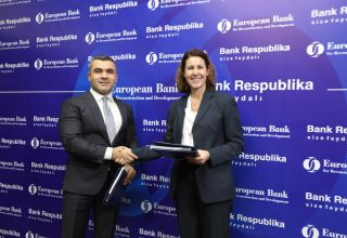 EBRD loan to Bank Respublika to support local businesses in Azerbaiijan (PHOTO)