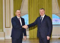 Президент Ильхам Алиев принял губернатора Астраханской области (ФОТО) (версия 2) - Gallery Thumbnail