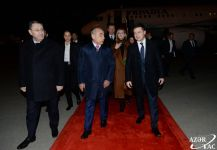 Ukrainian president arrives in Azerbaijan on official visit (PHOTO) - Gallery Thumbnail