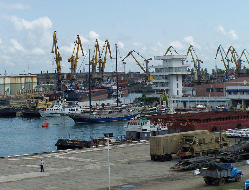 Georgia's Poti port hosts NATO vessels