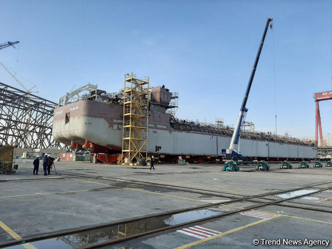 Azerbaijan's Kalbajar tanker to be commissioned next year (PHOTO)