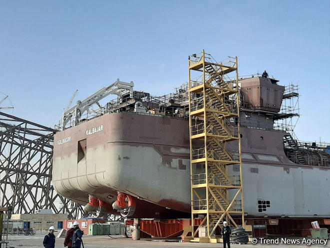 Azerbaijan's Kalbajar tanker to be commissioned next year (PHOTO) - Gallery Image