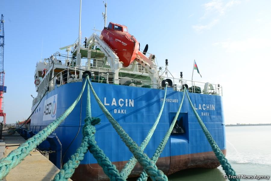 Azerbaijan's Lachin tanker to carry cargo across Caspian Sea and beyond (PHOTO) - Gallery Image