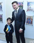 Prezident Vladimir Zelenski Bakı Slavyan Universitetində Ukrayna Tədris-Mədəniyyət Mərkəzi ilə tanış olub (FOTO) - Gallery Thumbnail