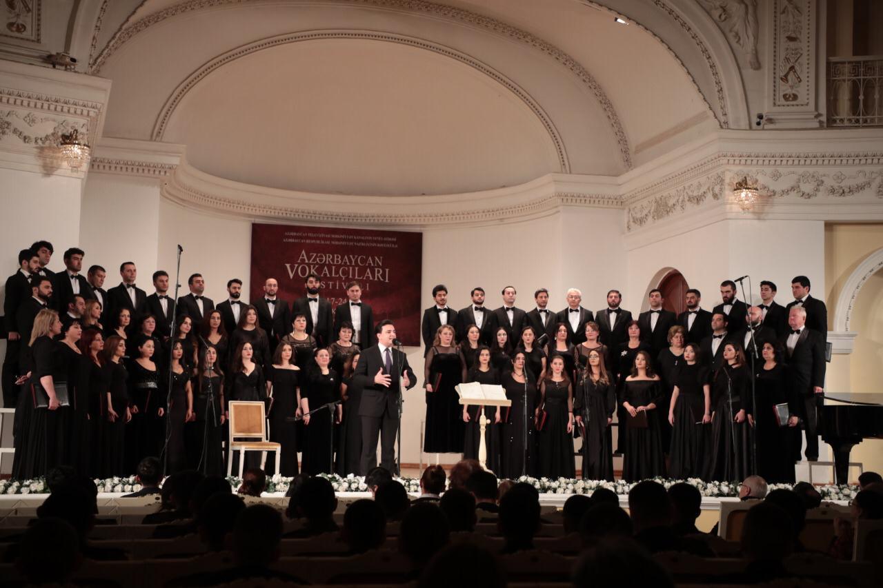 В Баку состоялось торжественное открытие первого Республиканского фестиваля вокалистов (ФОТО) - Gallery Image