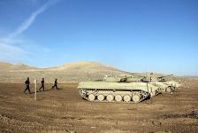 Intensive training of cadets of Azerbaijan Military Academy underway (PHOTO/VIDEO) - Gallery Thumbnail