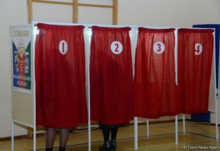 18.07% of voters cast ballots in municipal elections in Azerbaijan as of 12:00