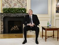 President Ilham Aliyev gave interview to a group of local journalists on results of the year (PHOTO/VIDEO) - Gallery Thumbnail
