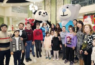 Vice-President of Heydar Aliyev Foundation Leyla Aliyeva attends festivities for children with Down Syndrome (PHOTO)