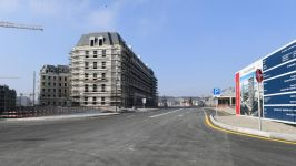 President Ilham Aliyev attended opening of Central Boulevard Street in Baku White City (PHOTO) - Gallery Thumbnail
