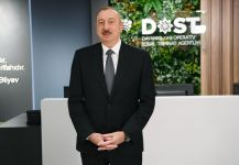 President Ilham Aliyev attends opening of DOST center No2 (PHOTO) - Gallery Thumbnail
