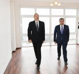 President Aliyev attends ceremony held to give out apartments to Karabakh war vets (PHOTO) - Gallery Thumbnail