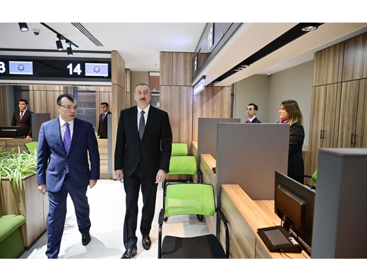 President Ilham Aliyev attends opening of DOST center No2 (PHOTO)