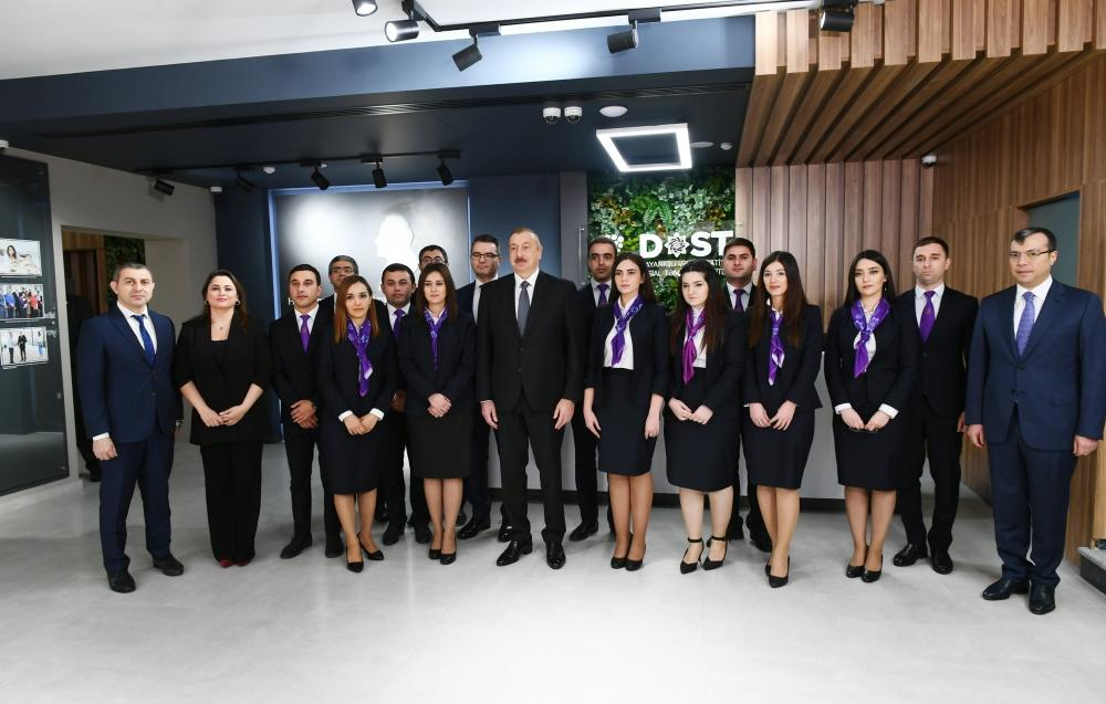 President Ilham Aliyev attends opening of DOST center No2 (PHOTO) - Gallery Image