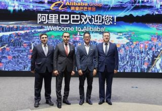 AzerTelecom, Alibaba Group mull co-op prospects (PHOTO)