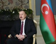 Azerbaijani president interviewed by Rossiya-24 TV channel (PHOTO) - Gallery Thumbnail