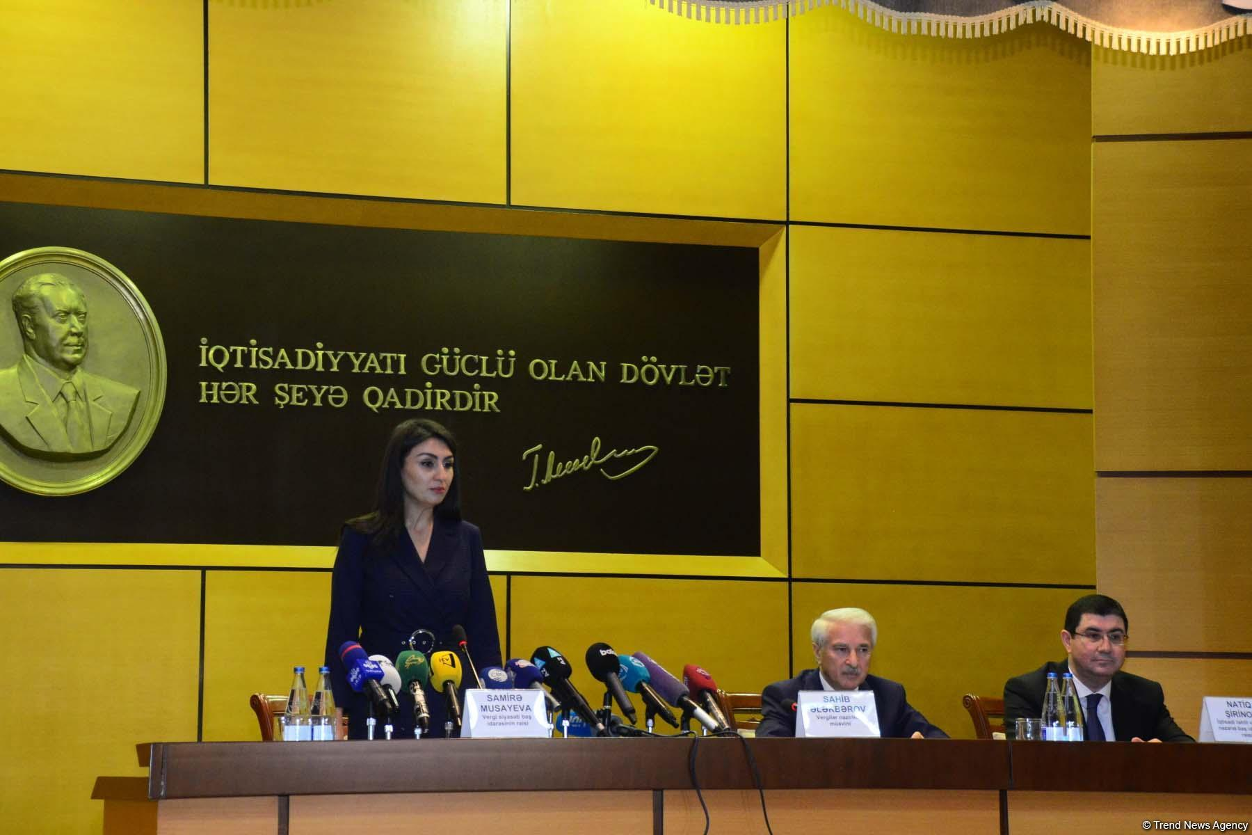 Ministry: Changes in Azerbaijan's Tax Code aimed at easing tax burden