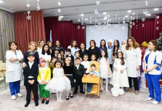 First Vice-President Mehriban Aliyeva viewed conditions created at reconstructed Children's Psycho-Neurological Center (PHOTO)