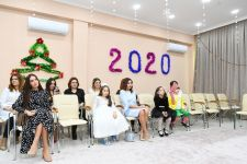 First Vice-President Mehriban Aliyeva viewed conditions created at reconstructed Children's Psycho-Neurological Center (PHOTO) - Gallery Thumbnail