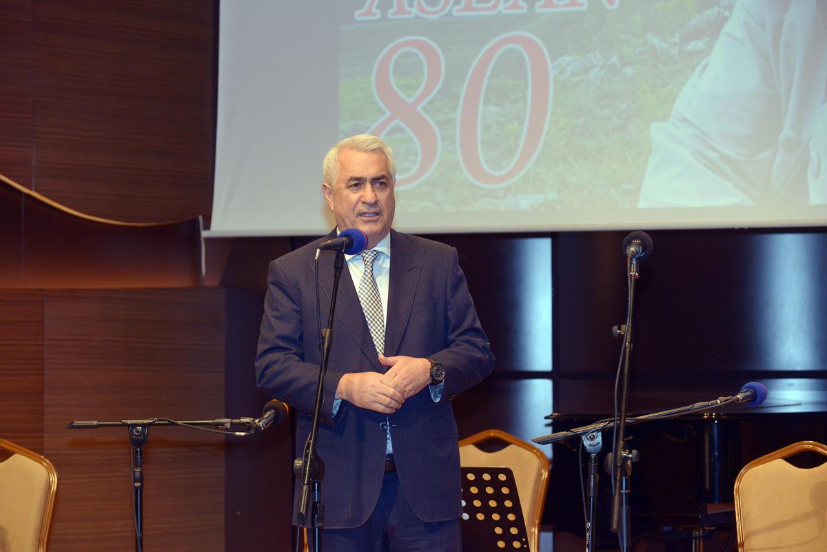 """""""Aşıq Şəmşir"""" Mədəniyyət Ocağı Məmməd Aslanın 80 illik yubileyini qeyd edib (FOTO) - Gallery Image"""