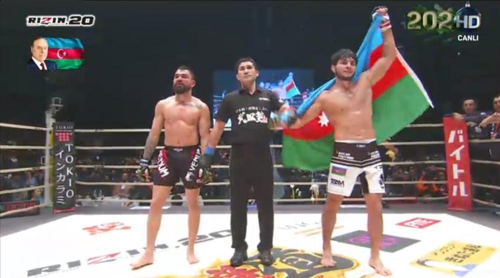 Tofiq Musayev MMA üzrə nüfuzlu turnirin qalibi olub