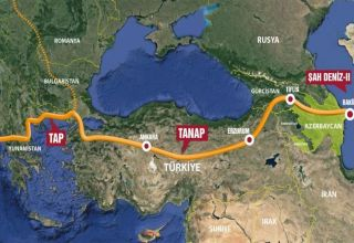 Azerbaijan's achievement related to changing EU's energy map