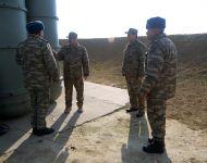 Министр обороны Азербайджана проверил боеготовность подразделений ПВО (ФOTO) - Gallery Thumbnail