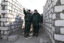 Генерал-полковник Магеррам Алиев совместно с начальником ГПС посетил дивизию, контролирующую границу с Арменией (ФОТО) - Gallery Thumbnail