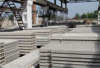 Azerbaijani company talks on decrease in sales volumes of reinforced concrete structures